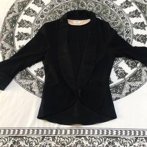 Silk tuxedo blazer